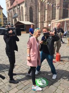 Der erste Selfie-Point in Schmalkalden ist da!