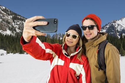 Selfies zu jeder Jahreszeit