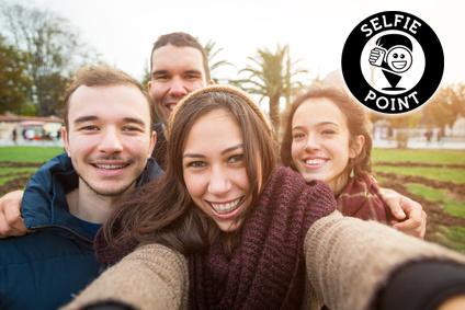 Selfie-Fans